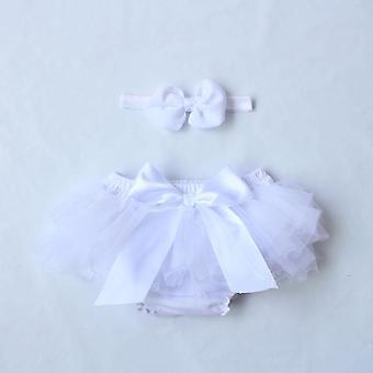 Nyfödda Summer Bloomers Baby Shorts Kläder Pannband