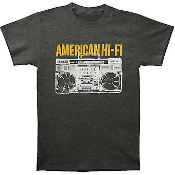American Hi-Fi Boombox T-shirt
