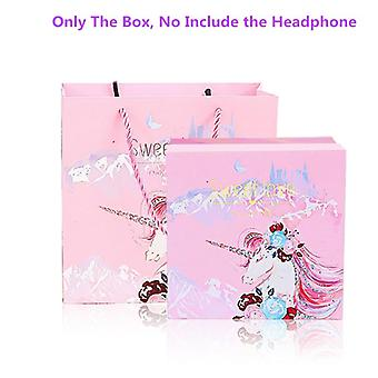 Cute Unicorn Wired, Music Stereo Headphone With Microphone