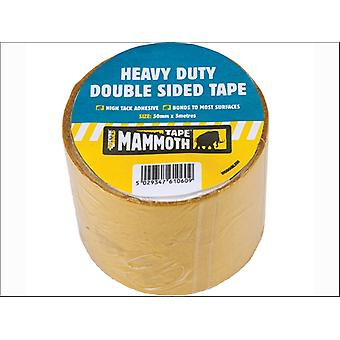 Everbuild Mammoth Heavy-Duty Double Sided Tape 50mm x 5m