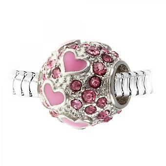 Boh me cristal orn encanto encanto de perlas por SC Crystal