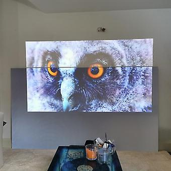 72, 84, 100, 120, 130, 133 Inches Reflective Fabric Led, Dlp, 3d Projector