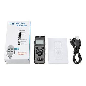 8 GB akumulatora LCD Digital Audio Sound A do B Repeat Voice Recorder