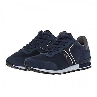 Boss Green Hugo Boss Parkour_Runn_Nymx2 Navy 402 Running Trainers 50433661