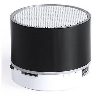Bluetooth loudspeaker with LED light Black