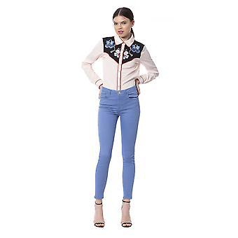 Women's Silvian Heach Blue Jeans