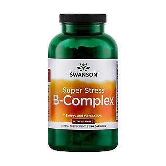 Super Stress B-Complex with Vitamin C 240 capsules