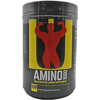 Universal Nutrition Amino 1000 Dietary Supplement - 500 Capsules