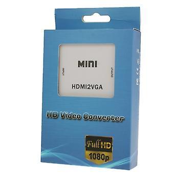 Mini HDMI zu VGA Audio Converter