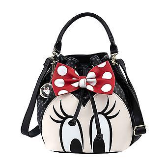 Mimmi Pigg Hink Väska Bow Logo Disney nya officiella Loungefly