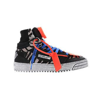 OFF WHITE Pony . Offcourt Sneakers Bla Black OWIA112R21LEA0021001 shoe
