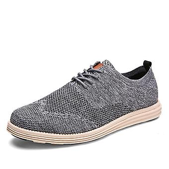 New Vintage Mesh Weaving Casual Breathable Shoes's