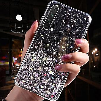Luxury Gradient Glitter Star Phone Case For Huawei P40 P20 P30 Pro Lite Cover
