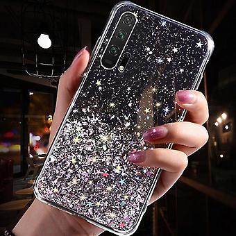 Luksus Gradient Glitter Star Telefon sag for Huawei P40 P20 P30 Pro Lite Cover