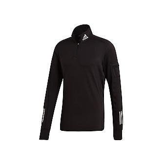 Adidas Own The Run 12 Zip Warm GC7910 running all year men sweatshirts
