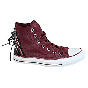 Converse Chuck Taylor Tri Zip Hi Womens Trainers Lace Up Shoes 545022F X24A