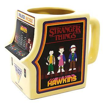 Stranger Things Arcade Machine Mug