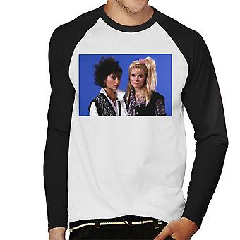 Weird Science Hilly And Deb Together Men's Baseball Long Sleeved T-Shirt