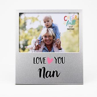 Widdop & Co. Aluminium Frame 6 X 4 - Love You Nan