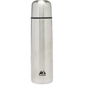 New Eurohike Stainless Steel Flask 750Ml Hydration Flasks Silver