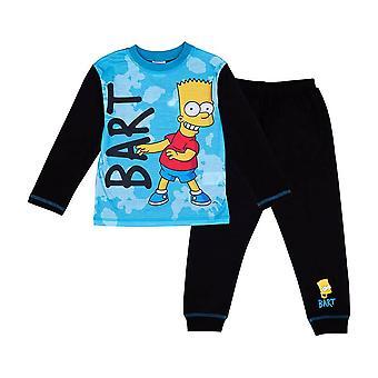 Children's The Simpsons Bart Simpson Character Pyjama Set