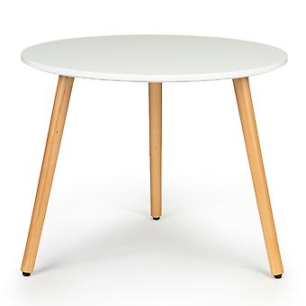 Salontafel modern wit -  60x47,5 cm - woonkamer tafel