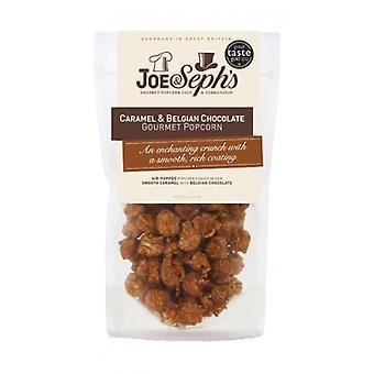Karamel a belgická čokoláda Popcorn