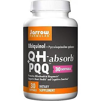 Formules Jarrow Ubiquinol QHabsorb + PQQ Softgels 30