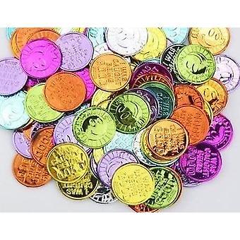 Kunststoff-Goldmünzen Requisiten