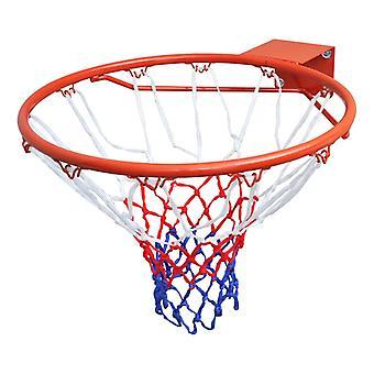 Basketball Goal Hoop Set Rim With Net Orange 45 Cm