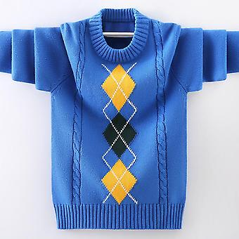 Boys Pullover Knitting  Sweater, Winter's Clothing New Warm O-neck Sweater