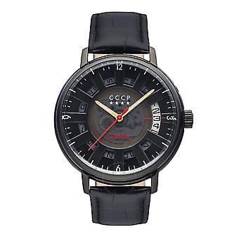CCCP Kashalot Dress Automatic Black Dial Men's Watch CP-7037-08