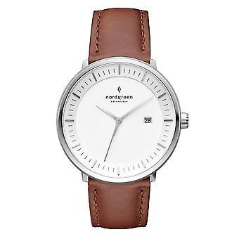 Nordgreen Ph36silebrxx White Dial Unisex Analog Watch