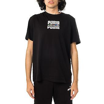 Miesten puma core international tee 587768.01 T-paita