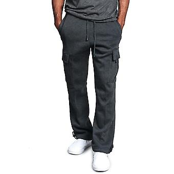 Men's Pure Color Active Joggers Running Sports Pants
