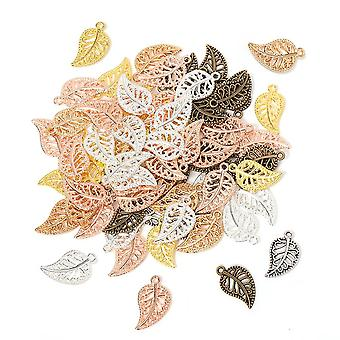 Tree Leaf Charms Pendants Earrings Necklace Bracelet Anklet Accessories