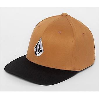 Volcom Men's Flexfit Cap ~ Full Stone Xfit GBN