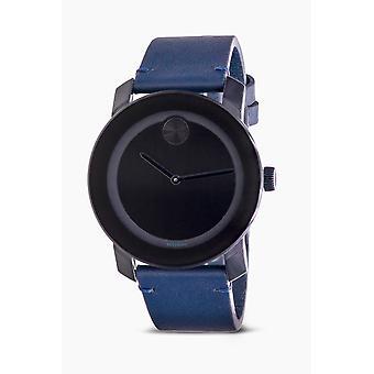 Movado Bold Lederen Heren Horloge 3600583