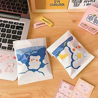 Cute Bear Wrapping Paper Bag Paper Organizer