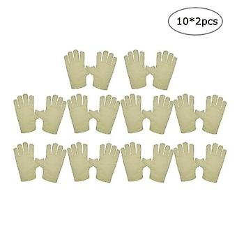 Canvas Gloves Thick Double-layer Protective Gloves Wear-resistant Anti-skid Work Gloves Mechanical Handling Protection Labor Insurance Supplies