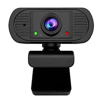 1080P HD Webcam USB Kannettava tietokone Kamera Clip-on PC Web Camera Automaattinen tarkennus Sisäänrakennettu mikrofoni