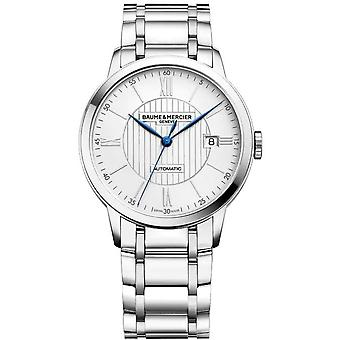 Baume & Mercier M0a10215 Classima Automatic Silver Stainless Steel Mens Watch