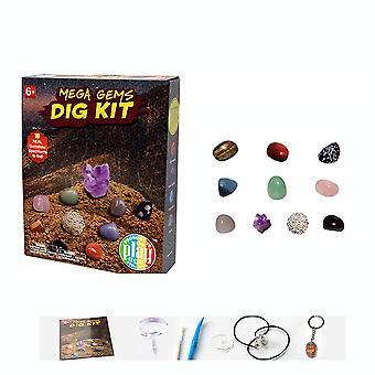 מגה אבני חן מדע ערכות ילדים ארכיאולוגיה ביולוגיה המפלגה צעצועים