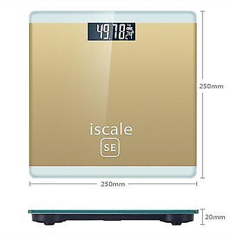 Gerui Digital Body Weight Bathroom Scale LCD Display(Golden)