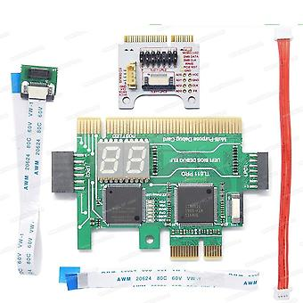Multifunction Motherboard Diagnostic Tester Lpc-debug Post Card Diagnostic