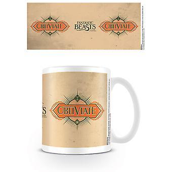 Fantastic Beasts - Obliviate Mug