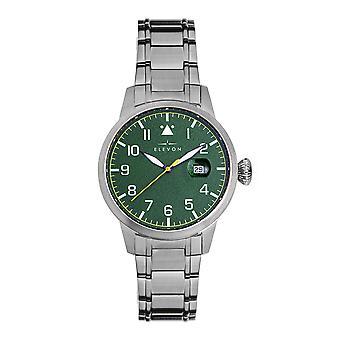 Elevon Stealth Bracelet Watch w/Date - Green