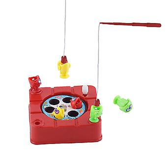 Electric Magnetic Fishing Toys Children Educational Toy Color Send By Random