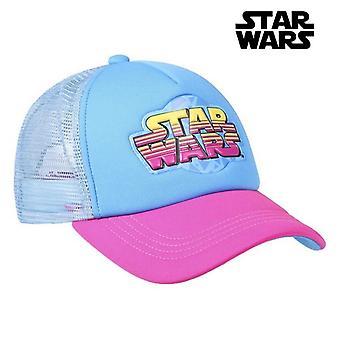 Child Cap Star Wars Pink Blue (56 cm)