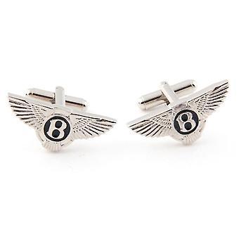 Camisa de logotipo de carro francês de luxo Cufflinks Bentley Logo Cufflinks Men's Wedding Clothing Accessories
